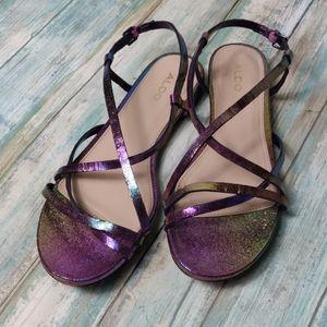 Aldo purple shimmer